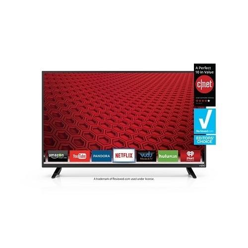 """Vizio 40"""" LED Smart HDTV E40-C2 + $100 Dell eGift Card $359.99 + FS"""