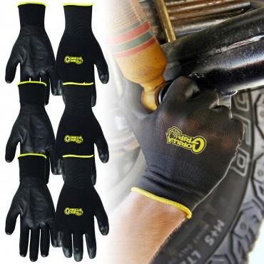 3-Pairs Grease Monkey Gorilla Grip Non-slip Work Gloves $6 + FS (Size M)