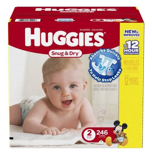 Amazon Huggies diaper 50%off prime only