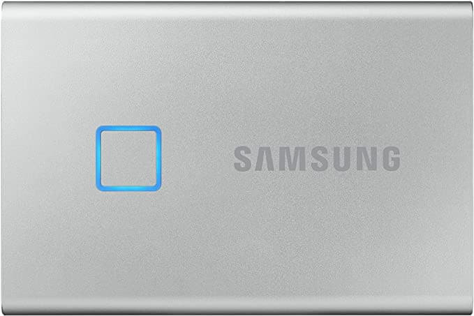 SAMSUNG T7 Touch Portable SSD 500GB - $81.49 (Silver) and Free Shipping w/ Prime