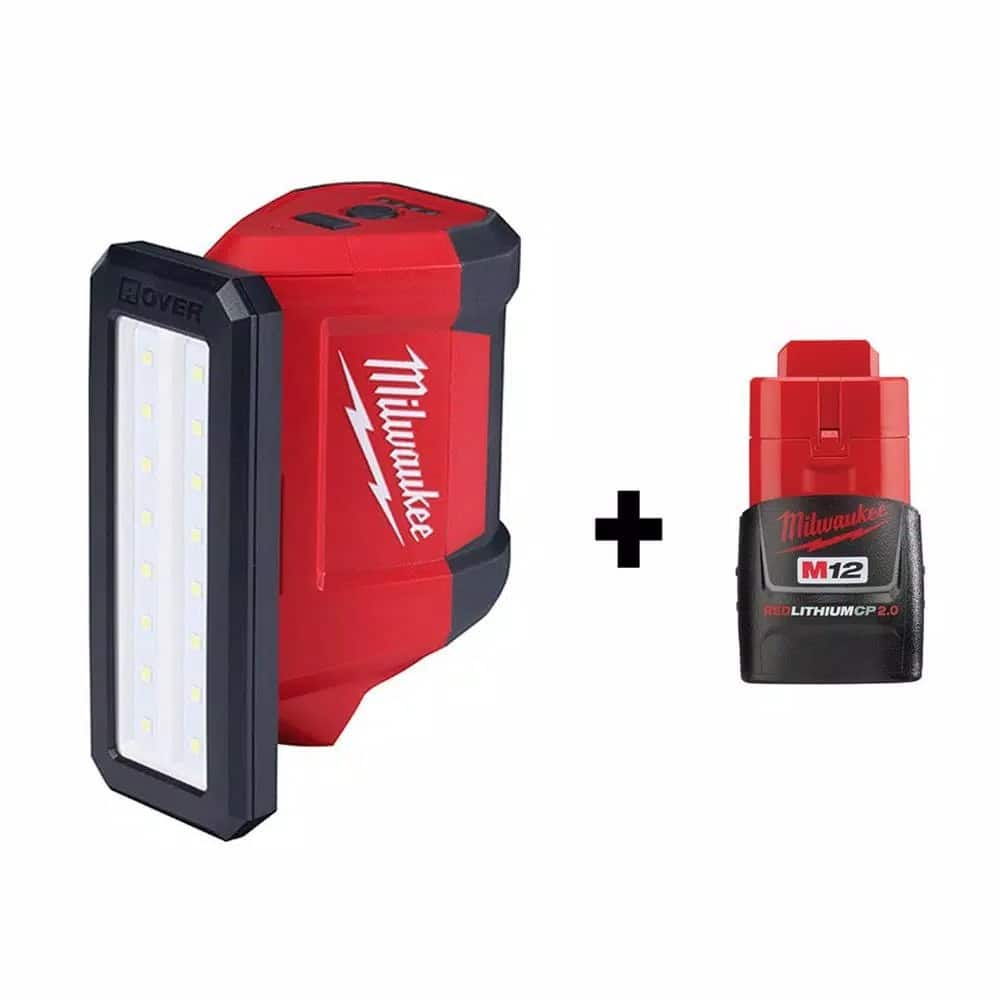 Home Depot: Milwaukee M12 Rover LED w/2ah battery $59 in stock $59
