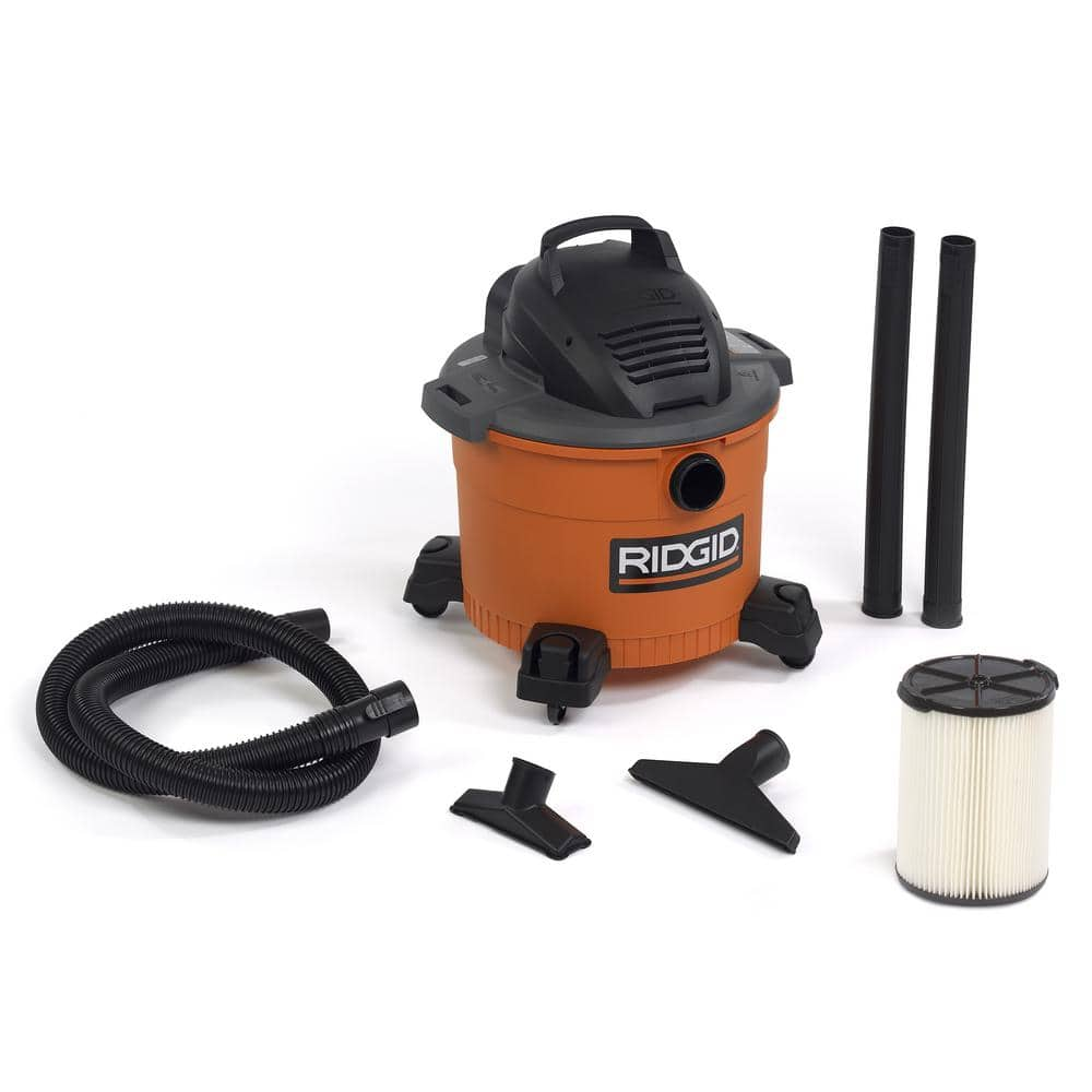 9 Gallon 4 25 Peak Hp Ridgid Wet Amp Dry Vac Slickdeals Net