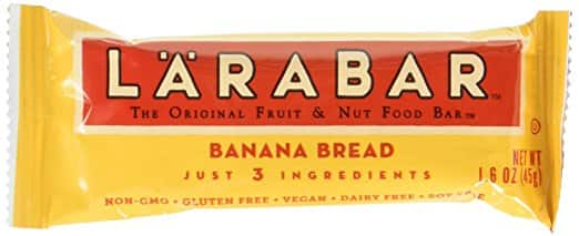 Larabar Gluten Free Bar, Banana Bread, 1.6 oz Bars (16 Count $11