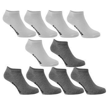 Donnay men's sneaker socks, 10-pack $3.75