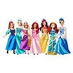 Target Cartwheel offer - 50% off Disney Princesses 7 pack doll collection (Reg $80, now $40) - great for Christmas/Birthday!