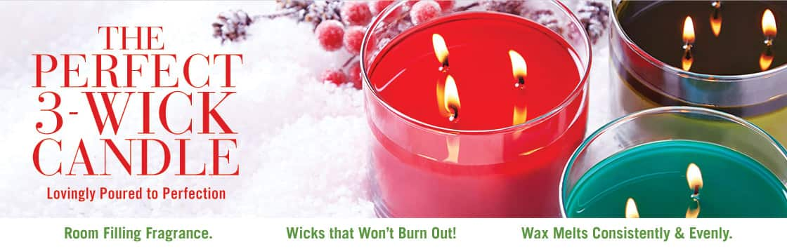 Bath & Body Works - All 3 Wick Candles $8.50 12/5 only