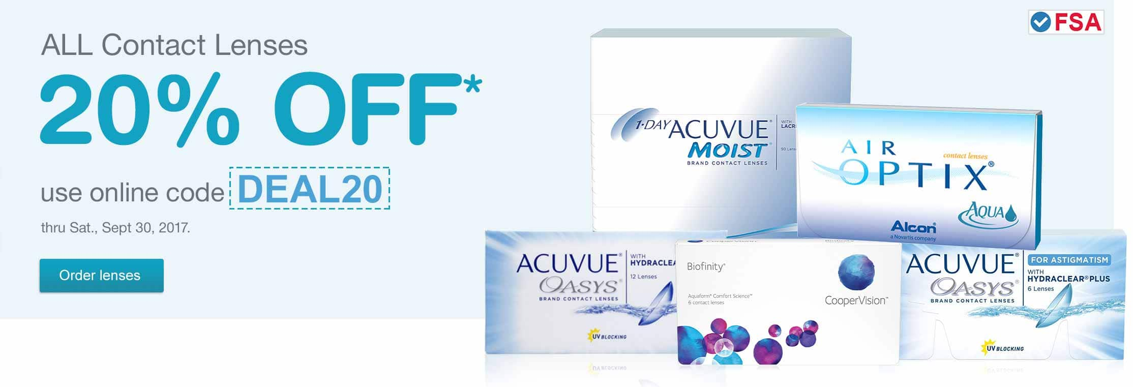 Walgreens Coupon: Contact Lenses 30% Off + $10 Off $50 w/ Visa Checkout + FS