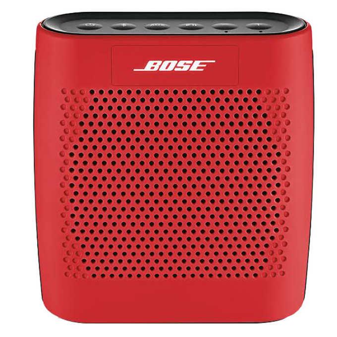 2f90227a261 Costco - Bose SoundLink Color Bluetooth Speaker - Red or Black - $89.97 FS