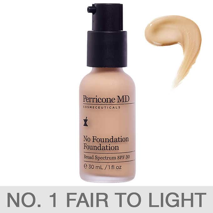 Costco.com - Perricone MD No Foundation Foundation 1oz SPF30 in Fair/Light or Light/Medium - $26.97 FS (reg over $60)