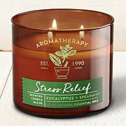 Bath & Body Works - Buy 2 get 2 free 3 Wick Candles, $5 Body Lotions PLUS $10 off $30 coupon