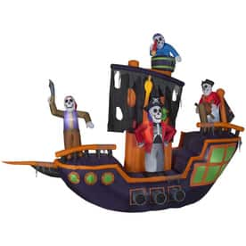 Lowe's - Halloween Inflatables 50% off - choice of Animatronic Pirate ship $99 (was $199) or 12ft Lighted Reaper $45 (was $99) + FS