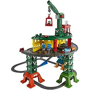 Fisher-Price Thomas the Train & Friends Super Station Playset (works with Thomas & friends adventures, Track Master, MINIS and wooden railway engine -$56