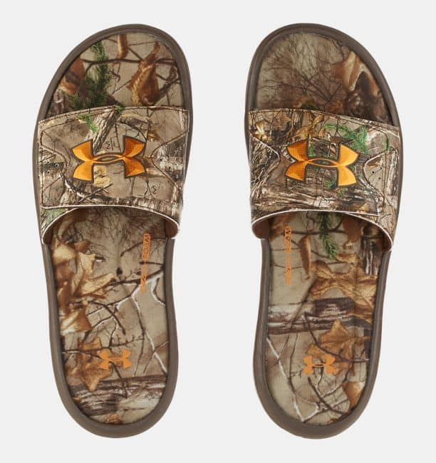 Men's Under Armour Camo Slide Sandals $19 Shipped