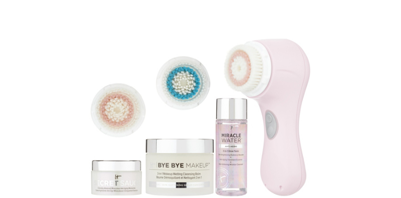 QVC - Clarisonic Mia 2 Sonic Cleansing System w/ 3 IT Cosmetics & 2 extra brush heads - $119.98 + $5 S&H