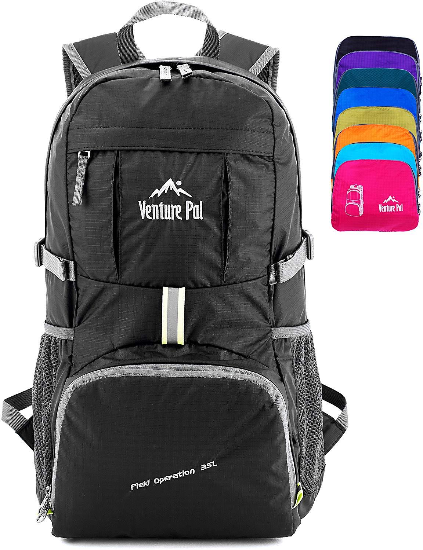 Venture Pal Lightweight Packable Durable Travel Hiking Backpack $14.69