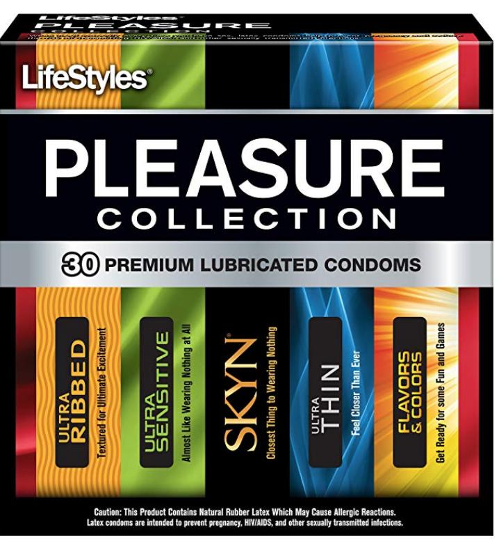Lifestyles Pleasure Collection, 30 Condoms $5.24 w/S&S