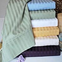 eBay Deal: NY Hotel Deluxe 300 Thread Count 100% Cotton Bed Sheet Set From $9.99 FS @ eBay Deals