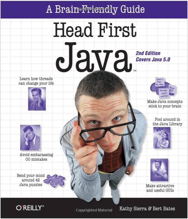 Head First Java, 2nd Edition paperback @ Amazon - $16.83