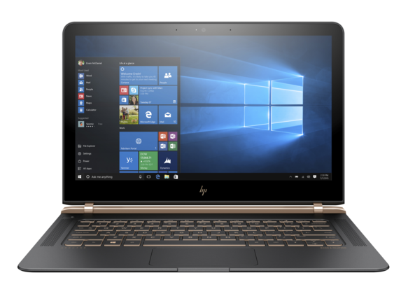 """New HP Spectre 13t Laptop (""""the thinnest laptop""""), with CPU upgrade to i7-6500 $875+tax"""