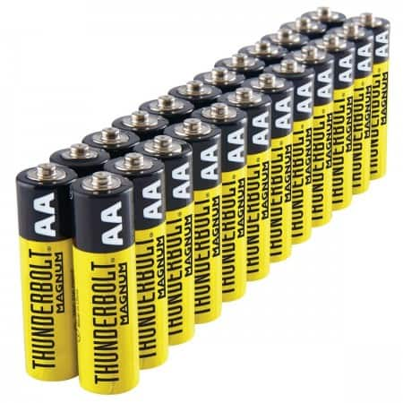 Harbor Freight Thunderbolt AA/AAA 24pk or C/D 6pk or 9V 4pk  Batteries $1.69 after coupon Exp 7/15/20