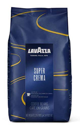 Lavazza Super Crema Whole Bean Coffee 2.2lb for $11.00