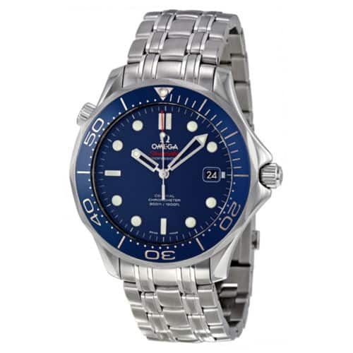 Omega Seamaster Automatic Blue Dial Mens Watch 212.30.41.20.03.001 $2495 on Ebay LePerfect + Free Shipping
