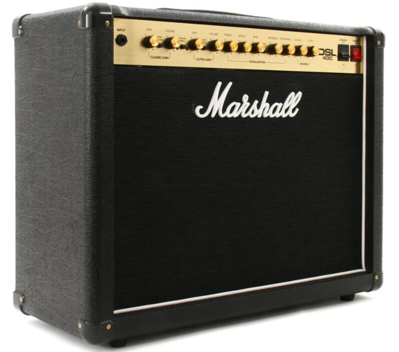 12 Marshall DSL40C 40W 2 Channel Tube Guitar Amplifier