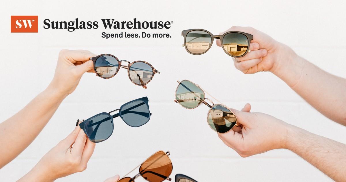 Flash Sale: Sunglass Warehouse: 40% Off Sunglasses until 1 PM PT