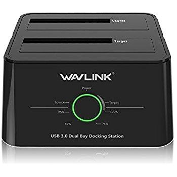 Inateck USB 3.0 to SATA Dual Bay Hard Drive Docking Station, UASP, $31 + shipping or FSSS/Prime