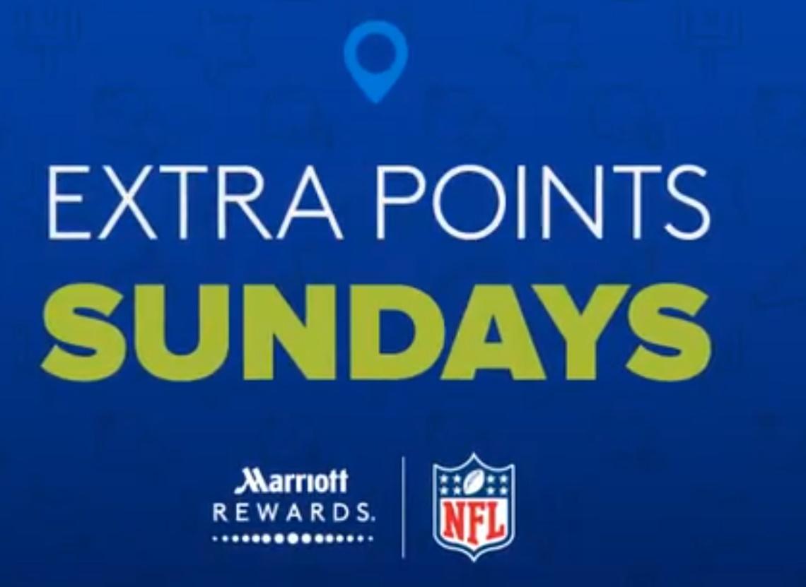 Marriott Rewards Extra Points Sundays 11/5
