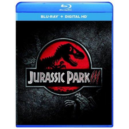 Jurassic Park III (Blu-ray + Digital Copy) $5 Walmart