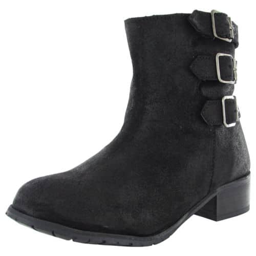 $125 Retail BooRoo Womens Jules Wool Lined Suede Ankle Boots - $19.99 Shipped