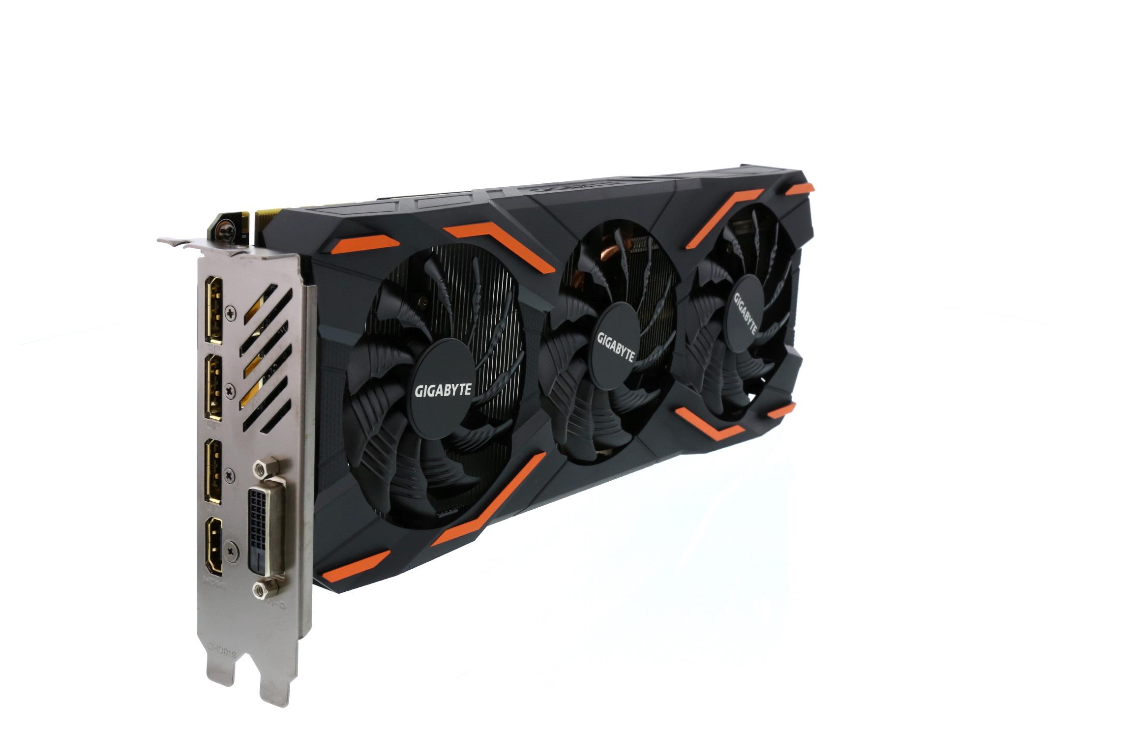 GIGABYTE GeForce GTX 1080 DirectX 12 GV-N1080WF3OC-8GD 8GB 256-Bit GDDR5X PCI Express 3.0 x16 ATX Video Card  - $460 with 50 off 500 code