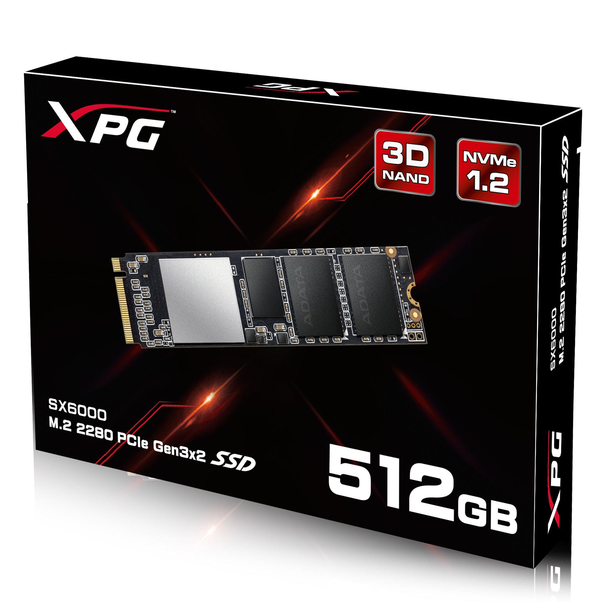 XPG SX6000 PCIE GEN3X2 M.2 2280 512GB SSD BY ADATA WITH DIY HEATSINK - 134.69 - with COUPON SAVE15 - RAKUTEN $134.69