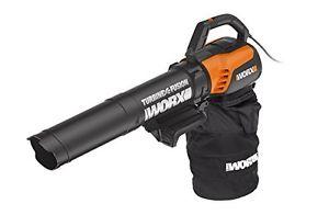 REFURBISHED WG510 WORX 12Amp 3-in-1 Blower/Vacuum/Mulcher (Metal Impeller) electric CORDED - $30.39