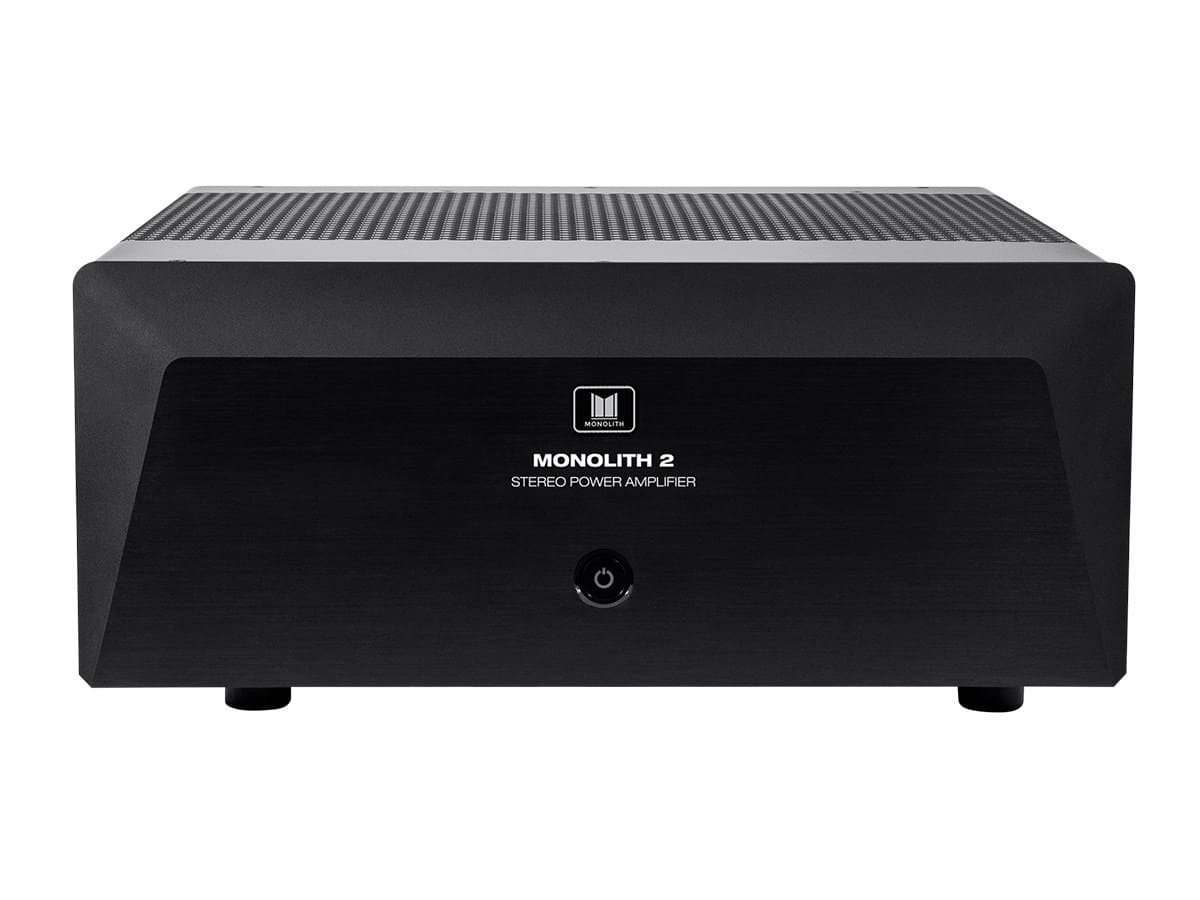 Monoprice Monolith 2x200 Watts Per Channel Two Channel Home Theater Stereo Power Amplifier - Factory Refurbished/B-Stock $499