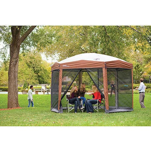 Coleman 12-by-10-foot Hex Instant Screened Canopy/Gazebo $119.00