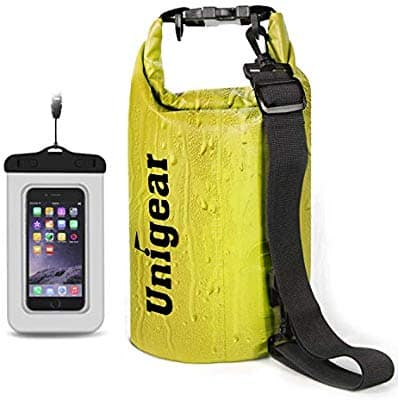 Dry Bag Waterproof, Floating and Lightweight Bags for Kayaking, Boating, Fishing, Swimming and Camping with Waterproof Phone Case, 2L/5L/10L/20L $6.03