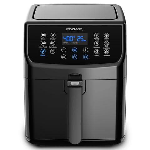 Rozmoz 1700W Electric Air Fryer Oven with 13 One-Touch $83.99 Presets,RA20
