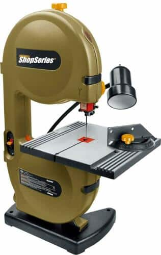 """Rockwell ShopSeries RK7453 9"""" Band Saw with Light $139"""