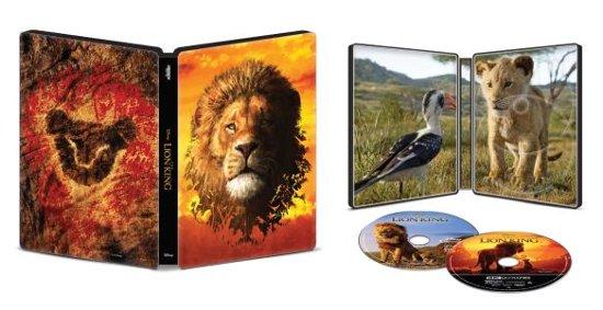 Lion King Steelbook 4K plus Blu ray plus digital $14.99