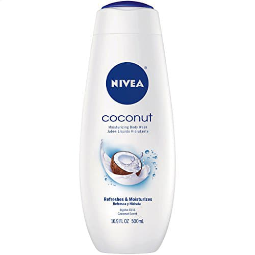 NIVEA Body Wash, Coconut, 16.9 Ounce (Pack of 3) $6.75 or as low as $5.90 FS with S&S