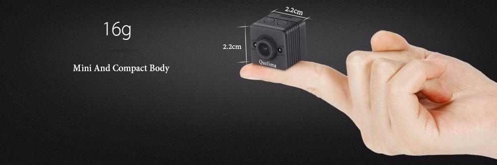 Quelima SQ12 Mini 1080p Dash Camera w/ DVR $10