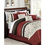 7-pc embroidered comforter sets (twin, full, queen, king, calking) $60 (reg. $200-$240) at Macys