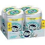 Eclipse Sugar Free Gum, Polar Ice, 60 Piece Big E Bottles (Pack of 4) - $8.83 ($2.20/ea) with 15% S&S - ($9.87 with 5% S&S )