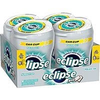 Amazon Deal: Eclipse Sugar Free Gum, Polar Ice, 60 Piece Big E Bottles (Pack of 4) - $8.83 ($2.20/ea) with 15% S&S - ($9.87 with 5% S&S )