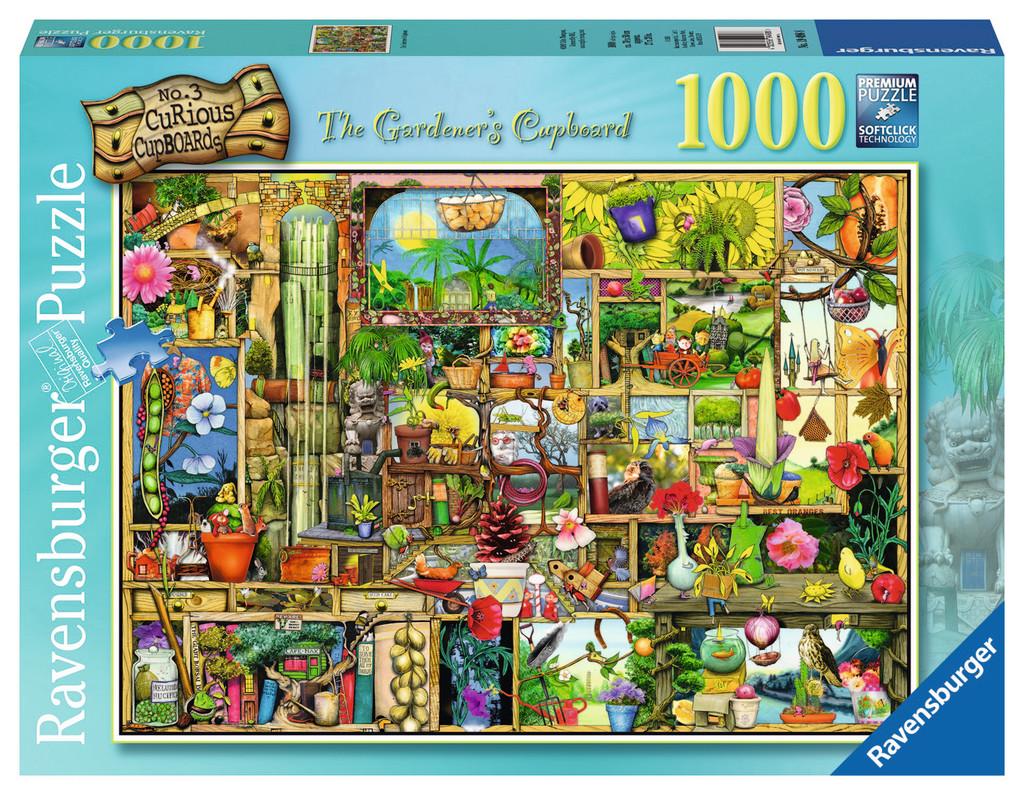 Ravensburger The Gardener's Cupboard OR Seaside Beauty Jigsaw Puzzle (1000 Piece) - $9.99/ea.