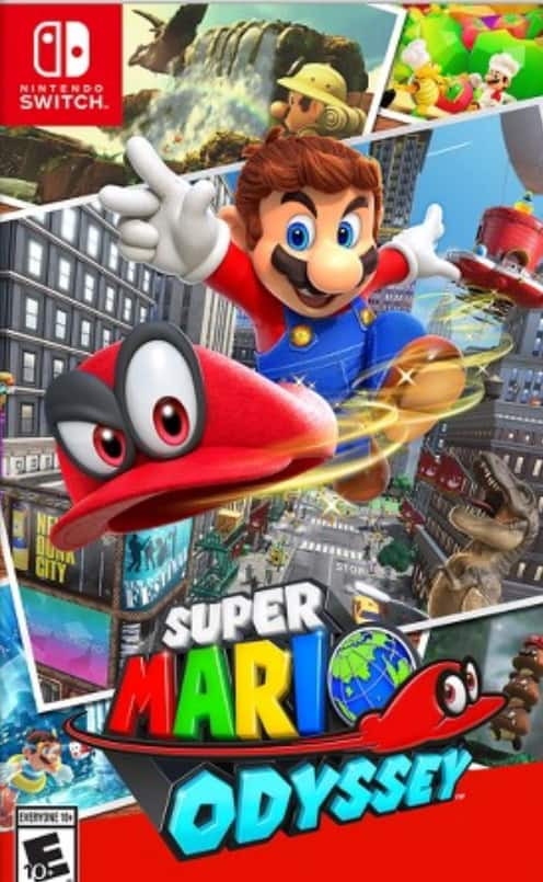 1f8062d799 Super Mario Odyssey for Nintendo Switch $46.50 with Target Red Card ...