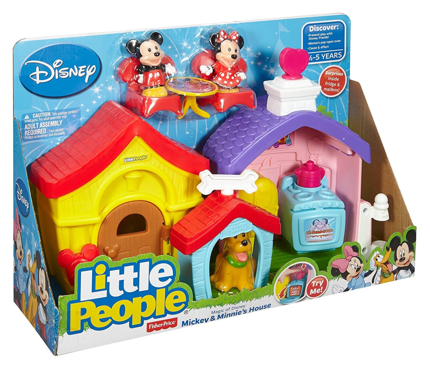 Fisher-Price Little People Magic of Disney, Mickey & Minnie's House - $15.29