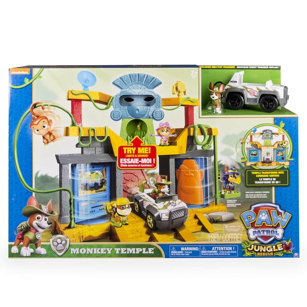 Kohl's Cardholders: Paw Patrol Tracker Monkey Temple Play Set by Spin Master - $19.59